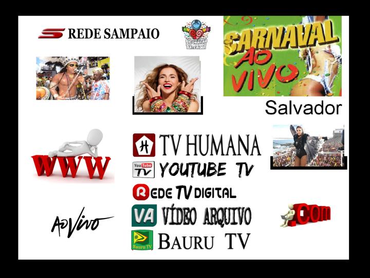 Carnaval 2014 ao vivo na Rede Sampaio de Televisão