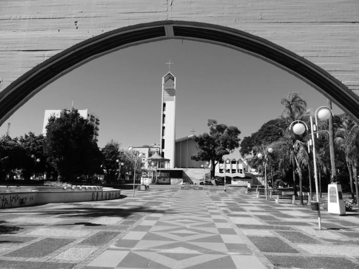Praça Rui Barbosa em Bauru - foto Jaime Prado 3