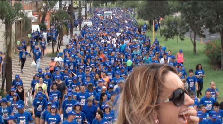 Bauru TV, Caminhada , GRUPO AMIGAS do PEITO, Bauru / SP
