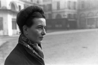Simone de Beauvoir, escxritora, filósofa, 3
