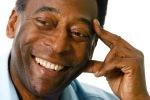 Brasil, São Paulo, SP. 15/04/2008. O craque do futebol e empresário, Édson Arantes do Nascimento, o Pelé, é visto durante entrevista em seu escritório na Vila Olímpia, zona sul de São Paulo. - Crédito:JONNE RORIZ/AGÊNCIA ESTADO/AE/Codigo imagem:24168