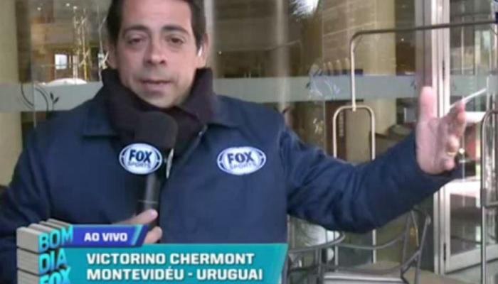 Victorino Chermont, da Fox, estava no avião.