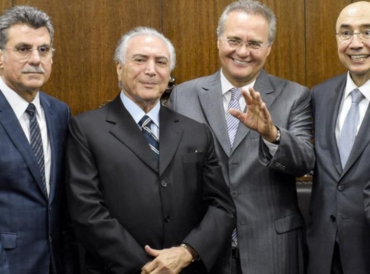 Jucá, Temer, Renan e Henrique
