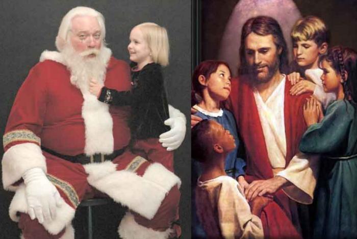 papai-noel-jesus-cristo-criancas