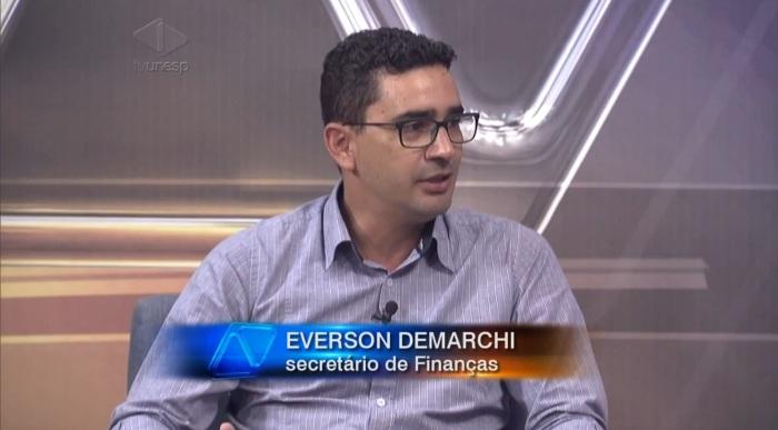 everson-demarchi-secretario-de-financas-de-bauru
